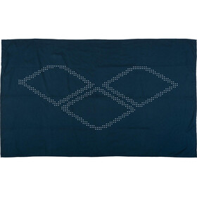 arena Halo Towel navy-white